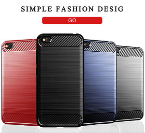 Image 5 - Funda de teléfono para Xiaomi Redmi Go silicona resistente armadura suave TPU cubierta Xiaomi Go Redmi Go Redmigo Xiomi fundas de carbono fundas Coque