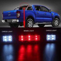 Rear 3rd LED Brake Light Chrome Clear For Ford F150 F250 F350 Bronco 92 96