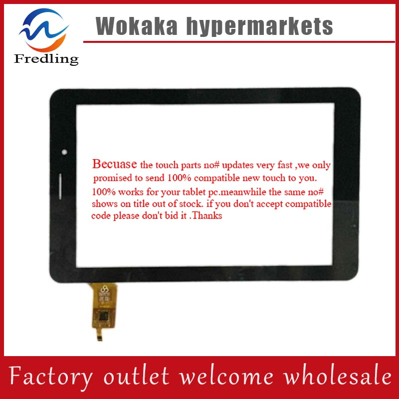 New for Prestigio MultiPad 4 Quantum PMT5487_3G touch screen Tablet PC touch panel digitizer glass new prestigio multipad pmt3008