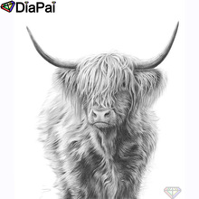 DIAPAI 100% Full Square/Round Drill 5D DIY Diamond Painting Animal yak Embroidery Cross Stitch 3D Decor A20869