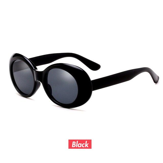 f8b74fc9b Superhot Shades Eyewear óculos de Sol Oval 90 s óculos de Sol Alienígena  UV400 Branco Preto