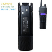 Baofeng UV 82 Battery 3800mAh Enlarged Battery UV 8D Walkie Talkie Portable Two Way Radio Baofeng UV 82 Accessories