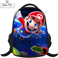 Super Mario Printing Backpack 2016 New Cartoon Children School Bag Baby Toddler Leather Shoulder Kindergarten Schoolbag GYD0038