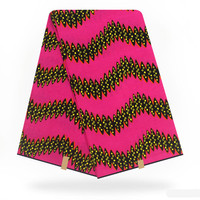 New Guarantee Dutch Wax100%Cotton African Print Wax Fabric 6 Yards/Veritable Holland Wax High Quality Real Wax For Sewing F93 19