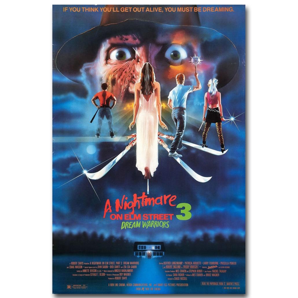 "A Nightmare on Elm Street Classci Movie Poster 13x20/"" 20x30/"" 24x36/"" Art Print"