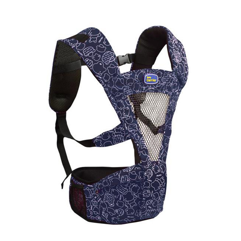 Summer Comfortable Breathable Cotton Baby Sling Kangaroo Baby Suspenders For Newborn Soft Baby Backpack Carrier MT100822