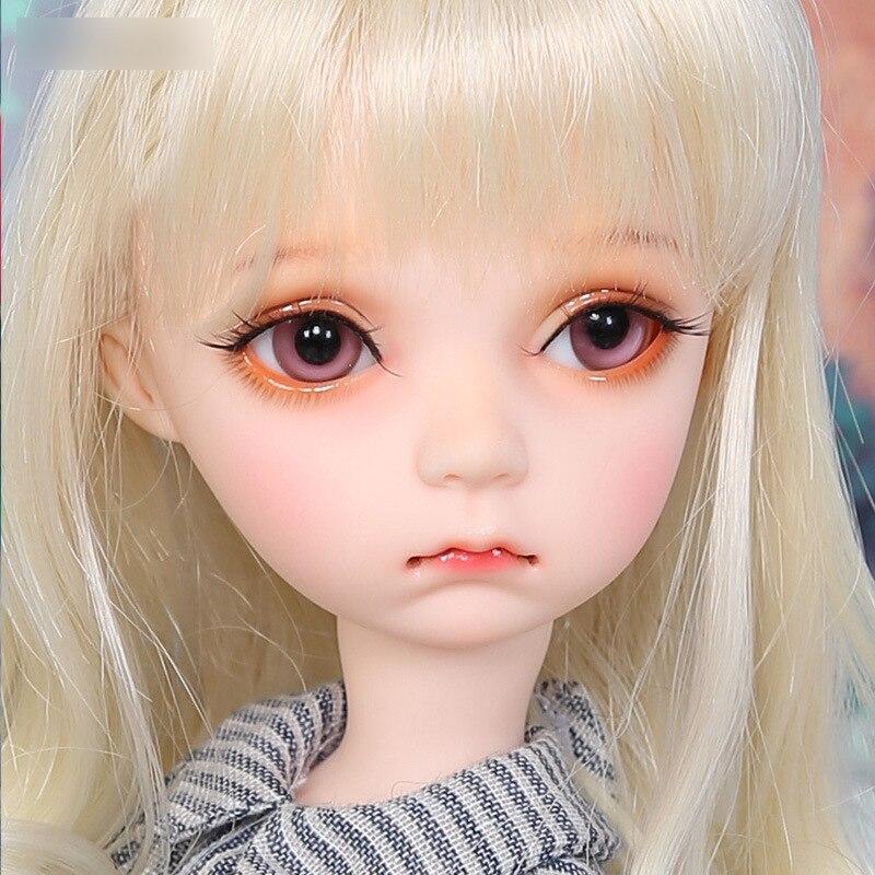 Imda3.0 muñeca BJD 1/6 SD cuerpo niñas niños figuras de resina regalo para cumpleaños Navidad opcional desnudo o Fullset-in Muñecas from Juguetes y pasatiempos    1