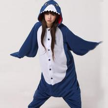 Adult Winter Monokuma Bear Blue Shark Pajamas Jack Skellington Sloth Lemur Animal Kiguruma Onesie Cosplay Costume