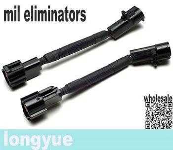 longyue 10pcs  PLUG-IN MIL ELIMINATORS / O2 CHEEATER (O2 SENSOR SIMULATORS) for 1996-04 FORD MUSTANG SVE
