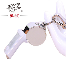 New Cushioned Mouth Grip Coaches Referee whistle Outdoor Sports,emergency survival Party Training School Football metal