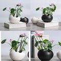 2x горшок для растений прочный керамический держатель Контейнер для цветов суккулент завод