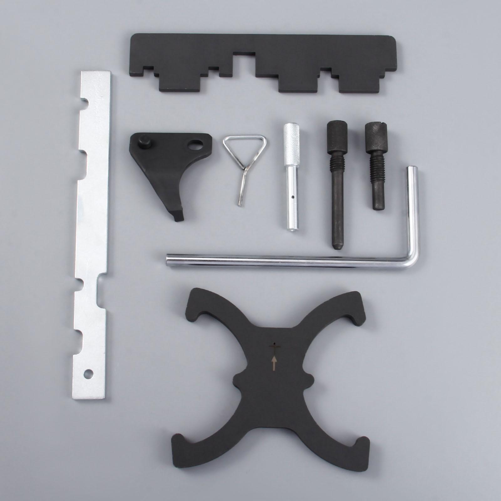 Yetaha Kit d'outils de blocage de calage d'arbre à cames moteur pour Ford Focus 1.6 pour Mazada 1.6 Eco Boost pour Volvo - 2
