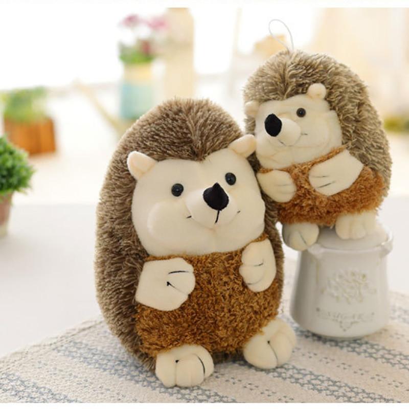 17/22cm Simulation Hedgehog Animal Dolls Small Size Plush Toys Lovely Birthyday Gift For Children