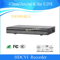 Free Shipping Original English Version DAHUA CCTV 4Ch Security Penta Brid H 265 H 264 4K
