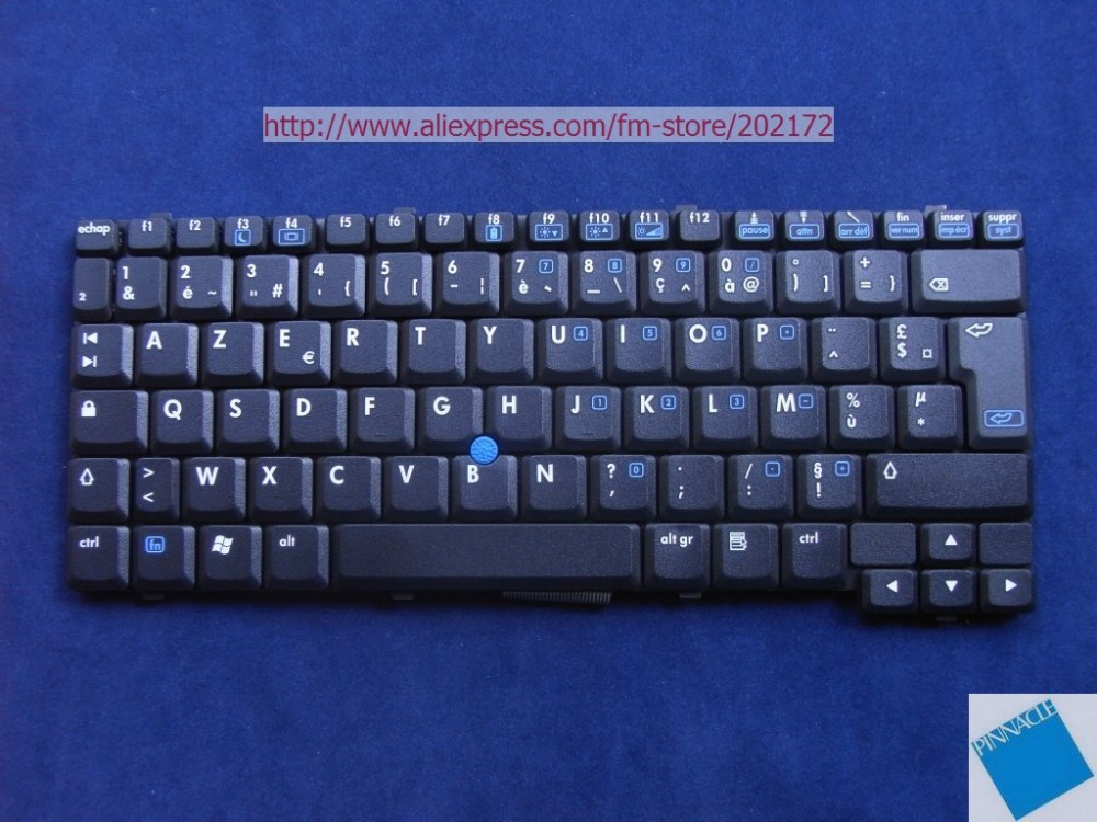Brand New Black Laptop Notebook Keyboard 408542-051 PK13ZI903G0 For HP Compaq NC4200 TC4200 series (France) цена