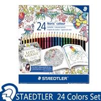 독일 staedtler 잃어버린 바다 24 색 컬러 연필 noris 컬러 드로잉 연필 컬러 크레용 드 couleur 학생 용품