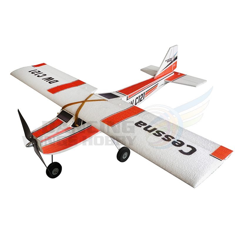 US $53 9 |RC Foam Plane Toy Cessna Model Airplane Gliders Remote Control  Aeroplne DIY Electric Flying Glider Planes Model Building Kits -in RC