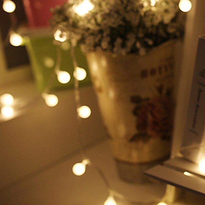 28//40LED Decoratio Lights Garland Light In//Outdoor Fairy Bulbs Garden Christmas