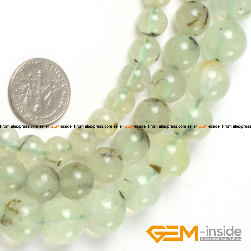 Round Prehnit e Beads,Selectable Size 8mm 10mm 12mm,Natural Stone Beads For Women Bracelet Making Strand 15 Free Shipping цена