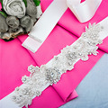 TOPQUEEN S157 Free Shipping Pure Handmade Charming Belt Wedding Sash Bridal Belt Rhinestone Wedding Sash Pearl Beaded Bride Belt