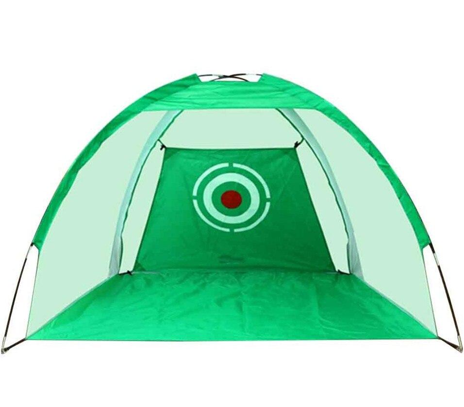 200cm*140cm*100cm Outdoor Golf Training Target Net Indoor Foldable Golf Hitting Cage Garden Grassland Practice Equipment B81705