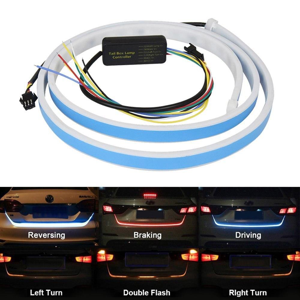 SITAILE taśma LED do samochodu oświetlenie tylne światło na