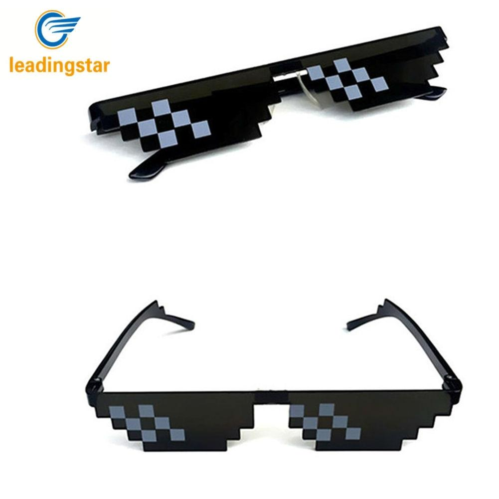 Kitchen Appliance Parts Mosaic Sunglasses Trick Toy Thug Life Glasses Deal With It Glasses Pixel Women Men Black Mosaic Sunglasses Funny Toy Oct26