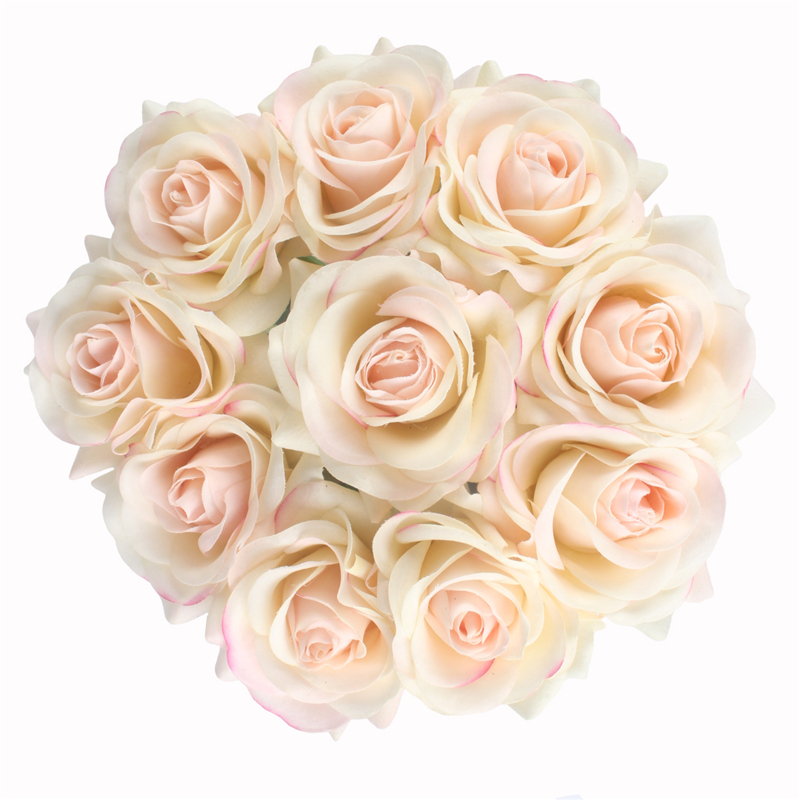 JAROWN Artificial Real Touch Hand Feel Rose Flowers For Valentine`s Day Preparation Wedding Decoration Home Decor (22)