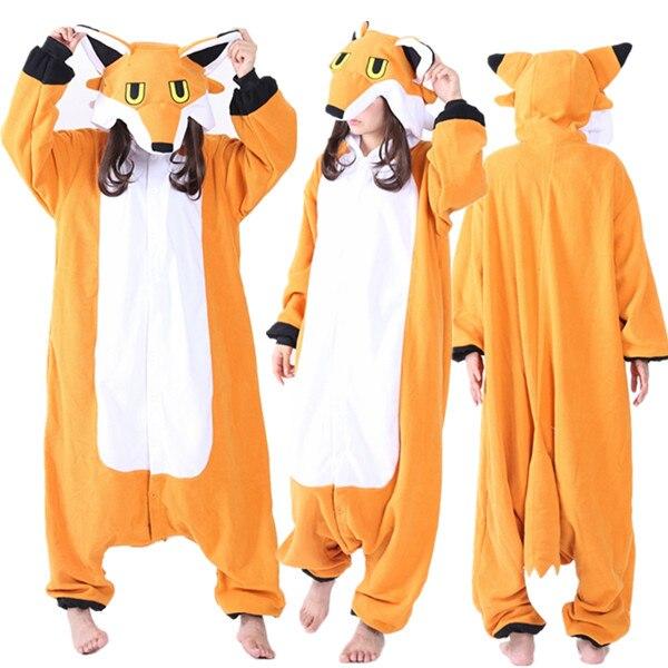 70842fc3f815 Newest Cosplay Anime Mr Wolf Easter Onesie Halloween Costumes Adult Women  Men Pajamas Christmas Jumpsuit Romper Fleece