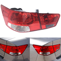 For Kia Forte/ Cerato 2009 2010 2011 2012 Car Light Assembly Auto Rear Tail Light Turning Signal Brake Lamp Warning Bumper Light