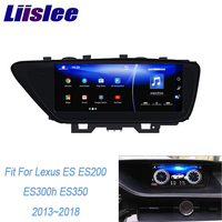 LiisLee Car Multimedia GPS Audio Radio For Lexus ES ES200 ES300h ES250 ES350 2013 2018 Original Style Navigation Bluetooth