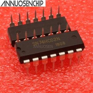 SN74HC14N SN74HC86N SN74HC08N SN74HC32N SN74HC02N SN74HC595N SN74HC00N SN74HC164N DIP Новая интегральная схема, 10 шт./лот