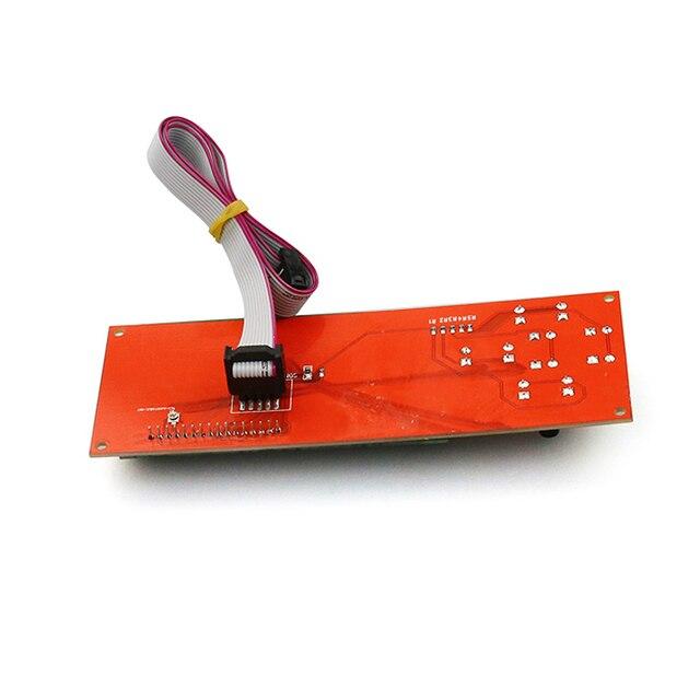 LCD2004 Module contrôleur décran panneau de commande imprimante 3D Kit pièces intelligentes rampes 1.4 pour Anet LCD2004 LCD écran bleu