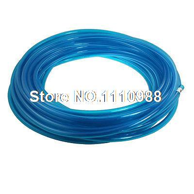 Clear Blue 12mm x 8mm Polyurethane Air Hose Tube PU Pipe 25M 82Ft