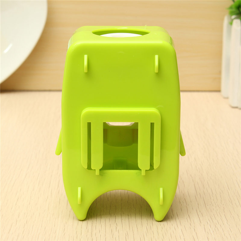 Environmental ABS Cartoon Toothpaste Dispenser Wall mounted Adhesive ...