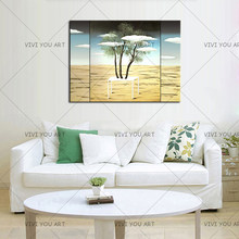 New 1 Sets Nordic Home Decorative Painting and Wall Art Posters Bedroom Modern and Simple Style peaceful T clouds(China)