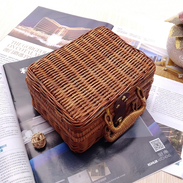 Бамбуковые чемоданы для хранения listen 2 пакуй чемоданы