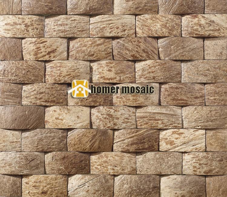 strip natural coconut art <font><b>mosaic</b></font> tiles coconut panel beautiful gougers art <font><b>mosaic</b></font> tiles wall tiles backsplash