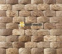 strip natural coconut art mosaic tiles coconut panel beautiful gougers art mosaic tiles wall tiles backsplash