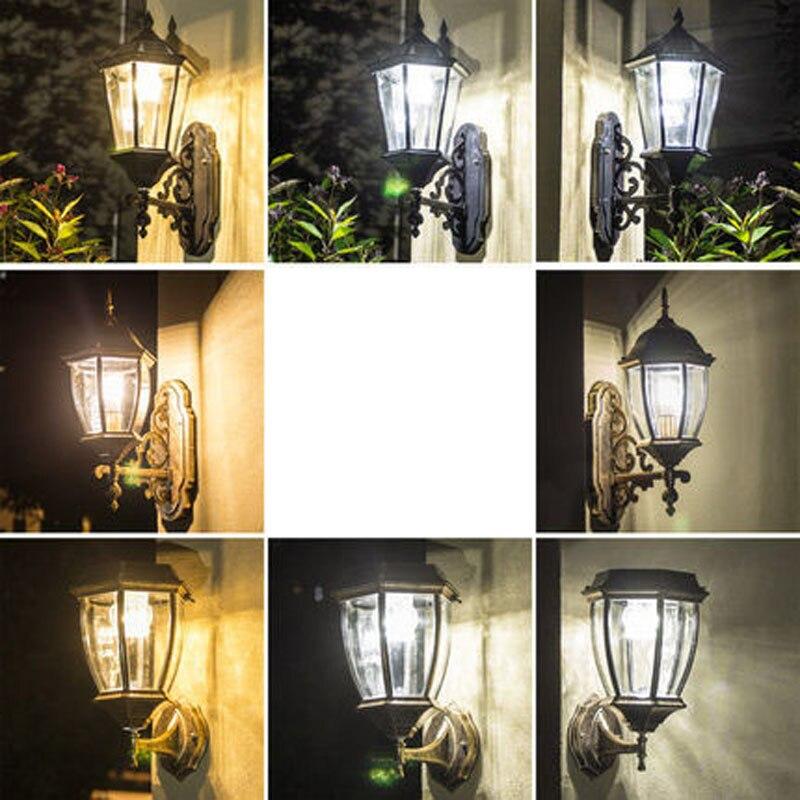 Led Outdoor Wall Lamps Lights & Lighting Solar Post Cap Lamp Outdoor Lighting Wall Lamps Balcony Led Sconce Waterproof Garden Light Fixtures Aluminum Lights Lampara