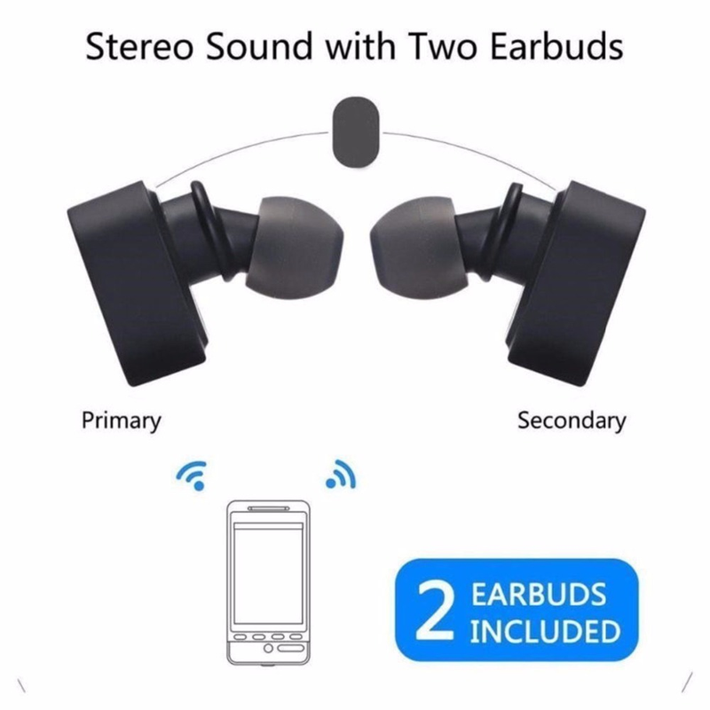 K3 TWS In-Ear Earphone Mini Wireless Bluetooth Headset Super Bass Earbuds Stereo Headphone for Iphone for Xiaomi iPhone Android