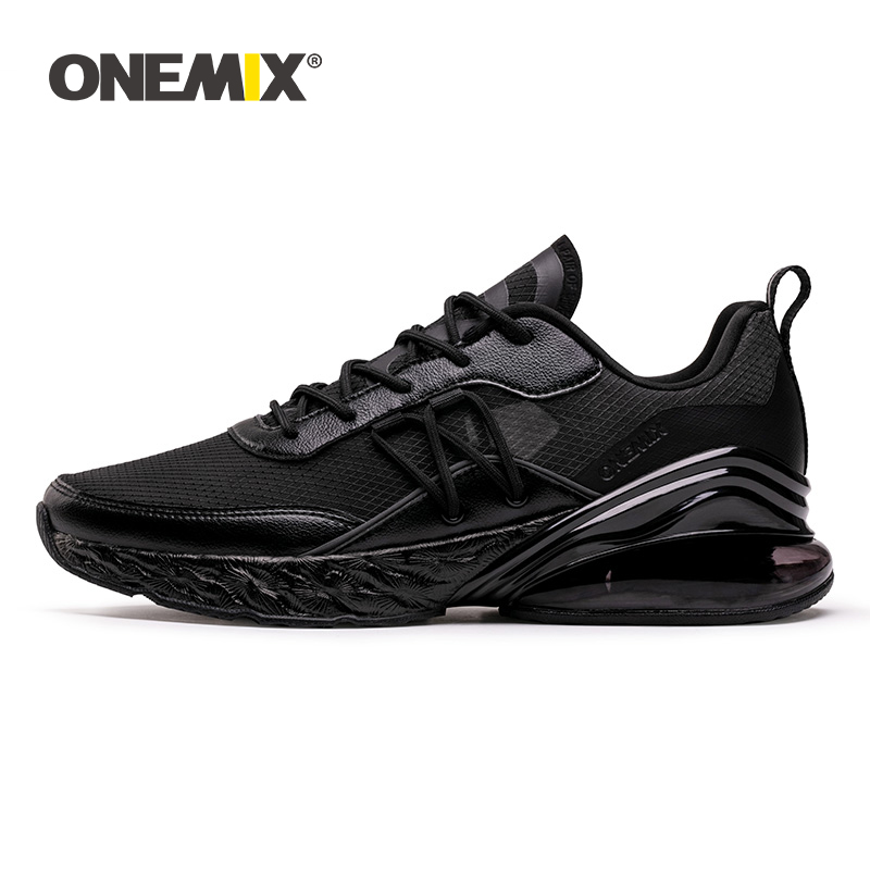 ONEMIX 2019 New Men Sneakers Fashion Damping Air Cushion Male Running Shoes Breathable Durable Athletic Outdoor Sports EUR 39-47