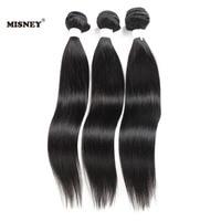 New Arrival 3 Bundles 100% Raw Human Hair Extensions Silky Straight Natural Color Virgin Hair Weaving Bundles