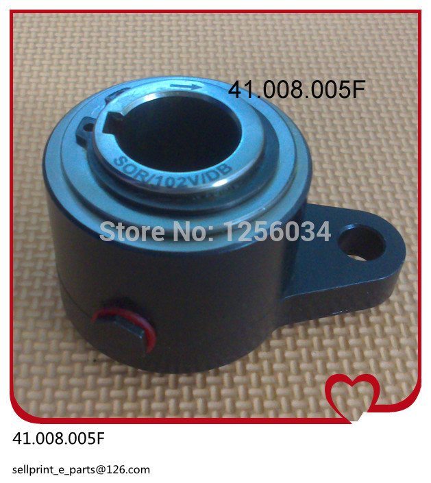 2 pieces Heidelberg ink over-running clutch for CD102 SM72 SM102 41.008.005F 1 peice water roller gear for sm102 cd102 heidelberg