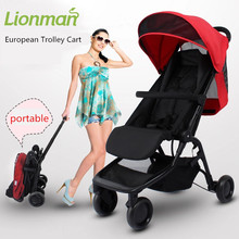 Hot sell baby Stroller BB Car High light Folding car convenience to travel portable to use