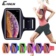 Waterproof Sports Running Workout Gym Arm Band Case For iPhone XS Max XR X 10 8 7 6 6S Plus SE 5 5S 4 4S Pouch Belt Cover Bag(China)
