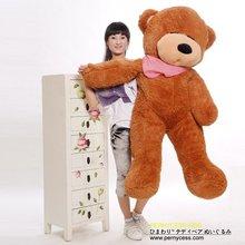 New 2014 bees scarf teddy bear 1pcs 120CM stuffed stuffed animals plush dolls classic toys gift wholesale