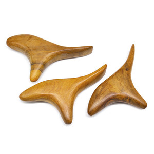 Image 3 - Natural Sandalwood Scraping Massage SPA Therapy Stick Point Treatment Muscle Relaxation Guasha Board