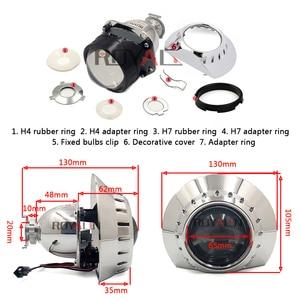 Image 4 - ROYALIN Bi xénon Mini projecteur de voiture H1 lentille avec E46 R écrans, rénovation externe, phares pour BMW M3 E90/E91/E92/E93 ZKW E46