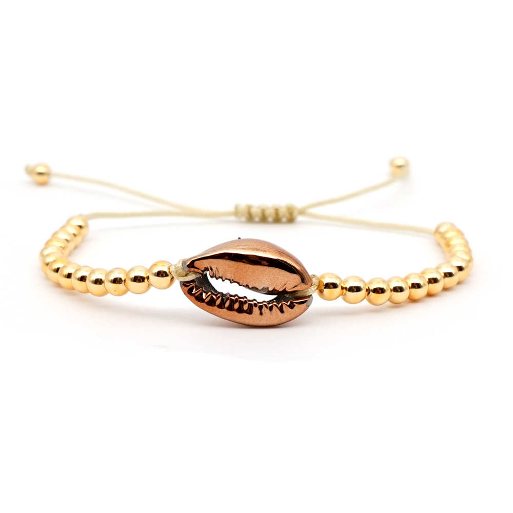 Go2boho Bracelet Puka Shell Summer Jewelry Pulseras Bohemia 2019 Women Fashion fit MIYUKI Bracelet Japan Gold Plate Plastic Bead in Charm Bracelets from Jewelry Accessories